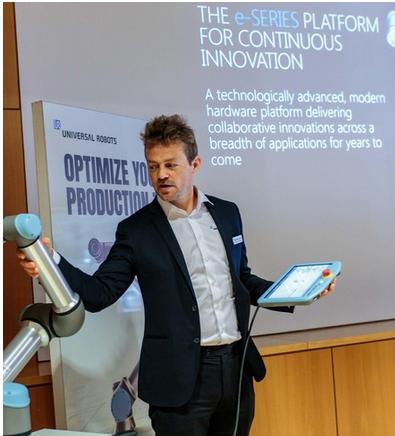 Esben reveal the e-series collaborative robots-1