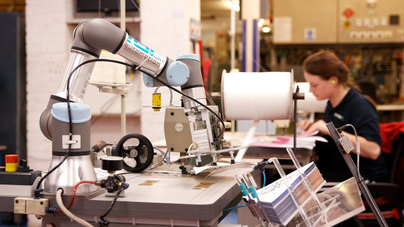 Six UR3 cobots to handle sewing and product assembly