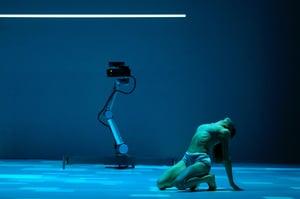 Hu robot, cobot ballerino