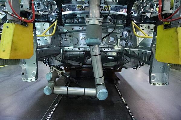 cobot industrie automobile