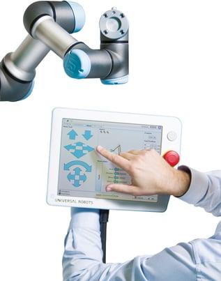 UR3 & Touchscreen - facilità di utilizzo