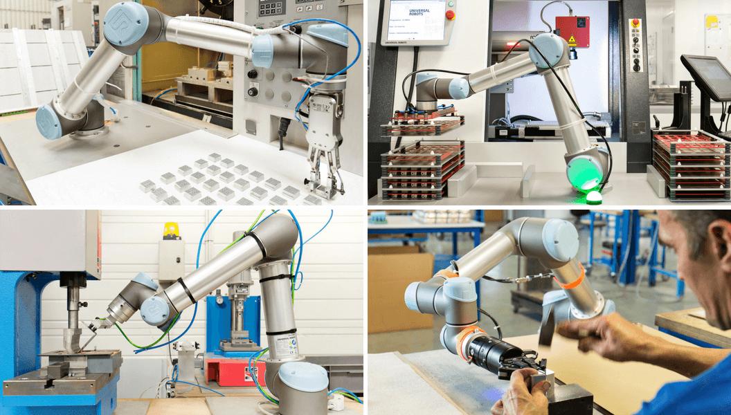 UR Roboter bei Nichrominox