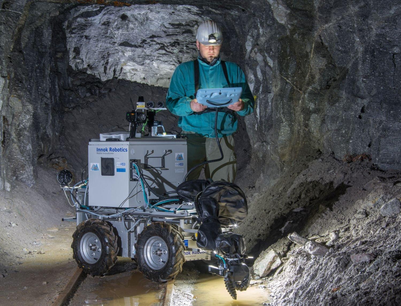 Bergwerkroboter Julius der TU Freiberg