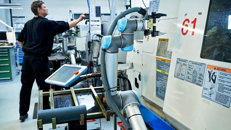 UR Roboter bei Trelleborg Sealing Solutions