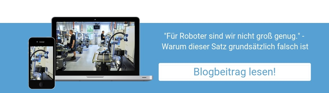 Für Roboter sind wir nicht groß genug - Blogbeitrag lesen