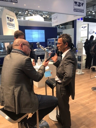 From robot to Cobot - Interview with NDR at Hannover messe 2017.jpg