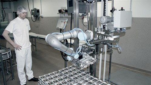 Cobots Help Automate Packaging Task