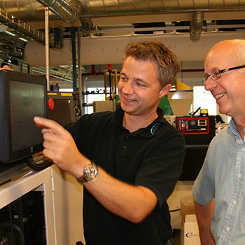 Easy Programming Of Injection Molding Automation At Oticon