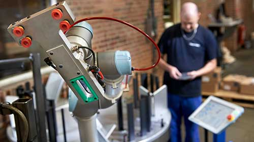 The Four Types Of Collaborative Robot Operation