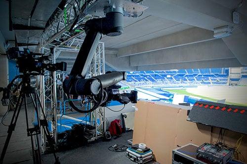 Wall Mounted Collaborative Robot At The Rio Olympics