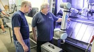 ALLA AXIS, machine tending, cobot