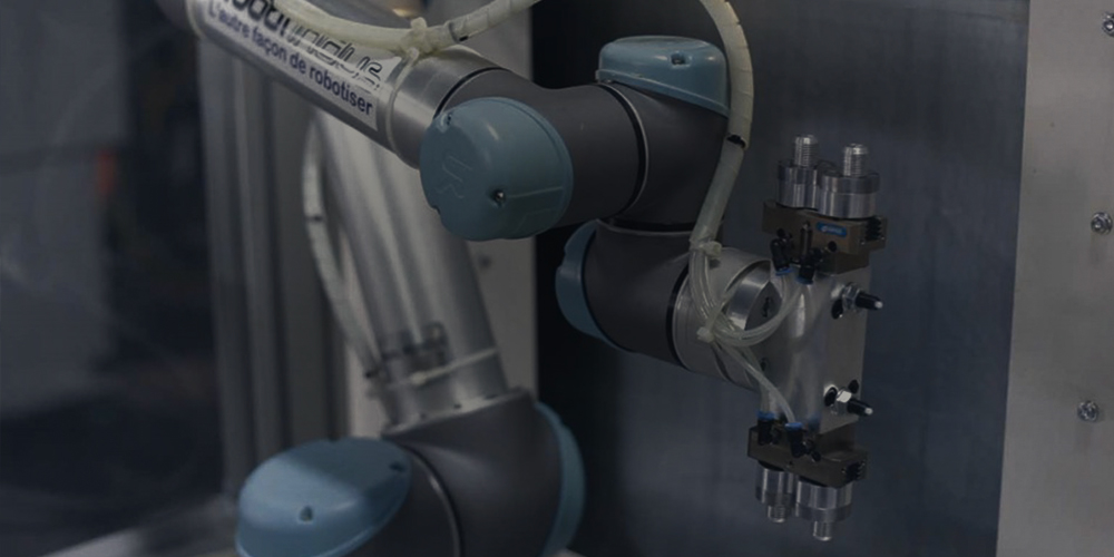 Automação robótica colaborativa