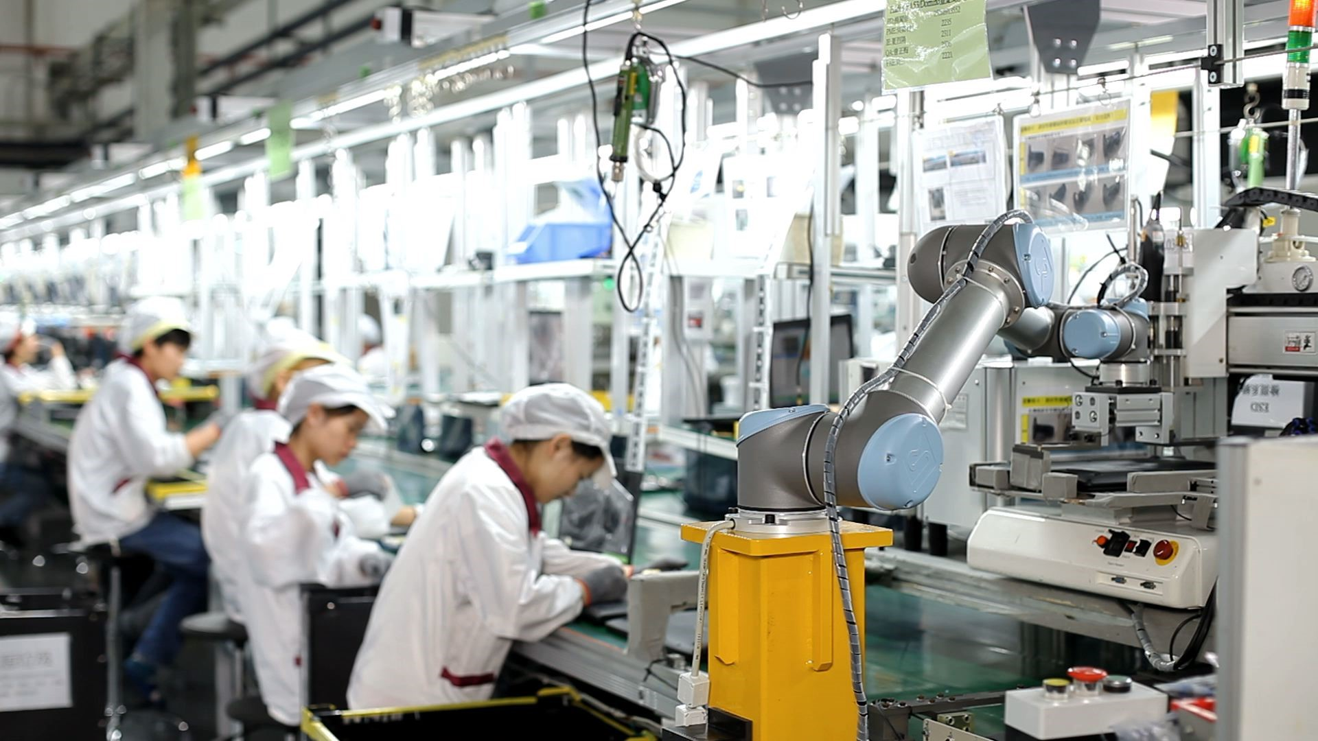 Cobots a tool changing the chinese 3c industry