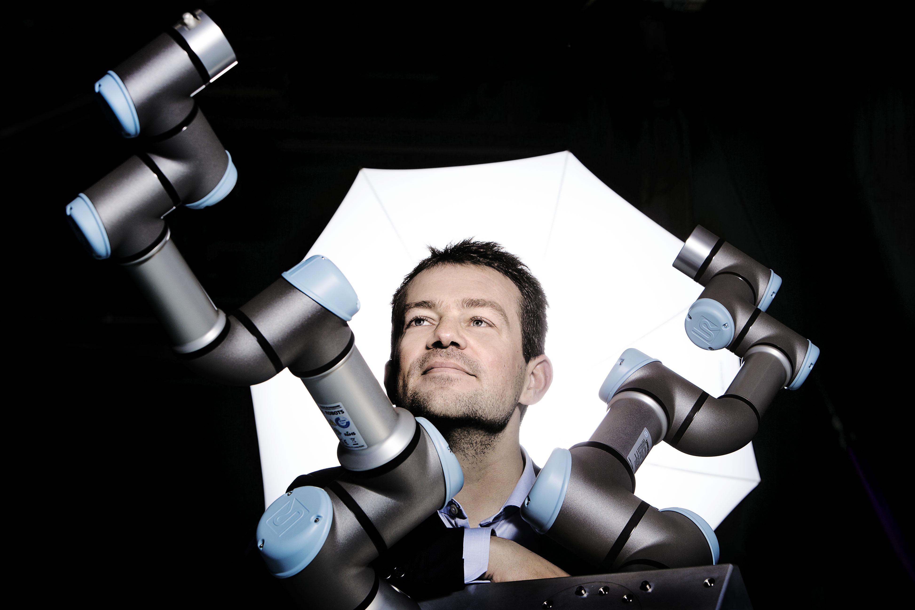 "From Cobot Pioneer to the ""Nobel Prize"" of Robotics What Drives UR CTO Esben Østergaard"