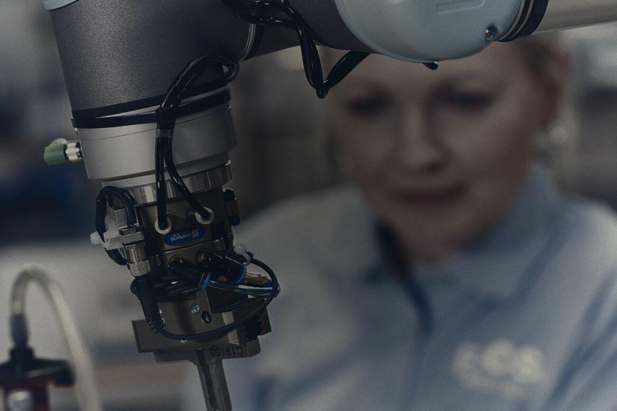 location robot collaboratif