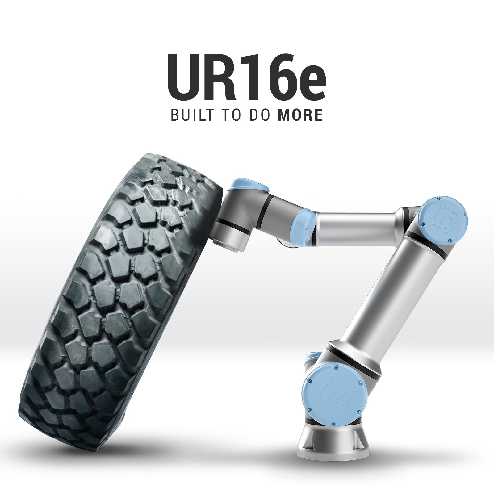 UR16e tire text