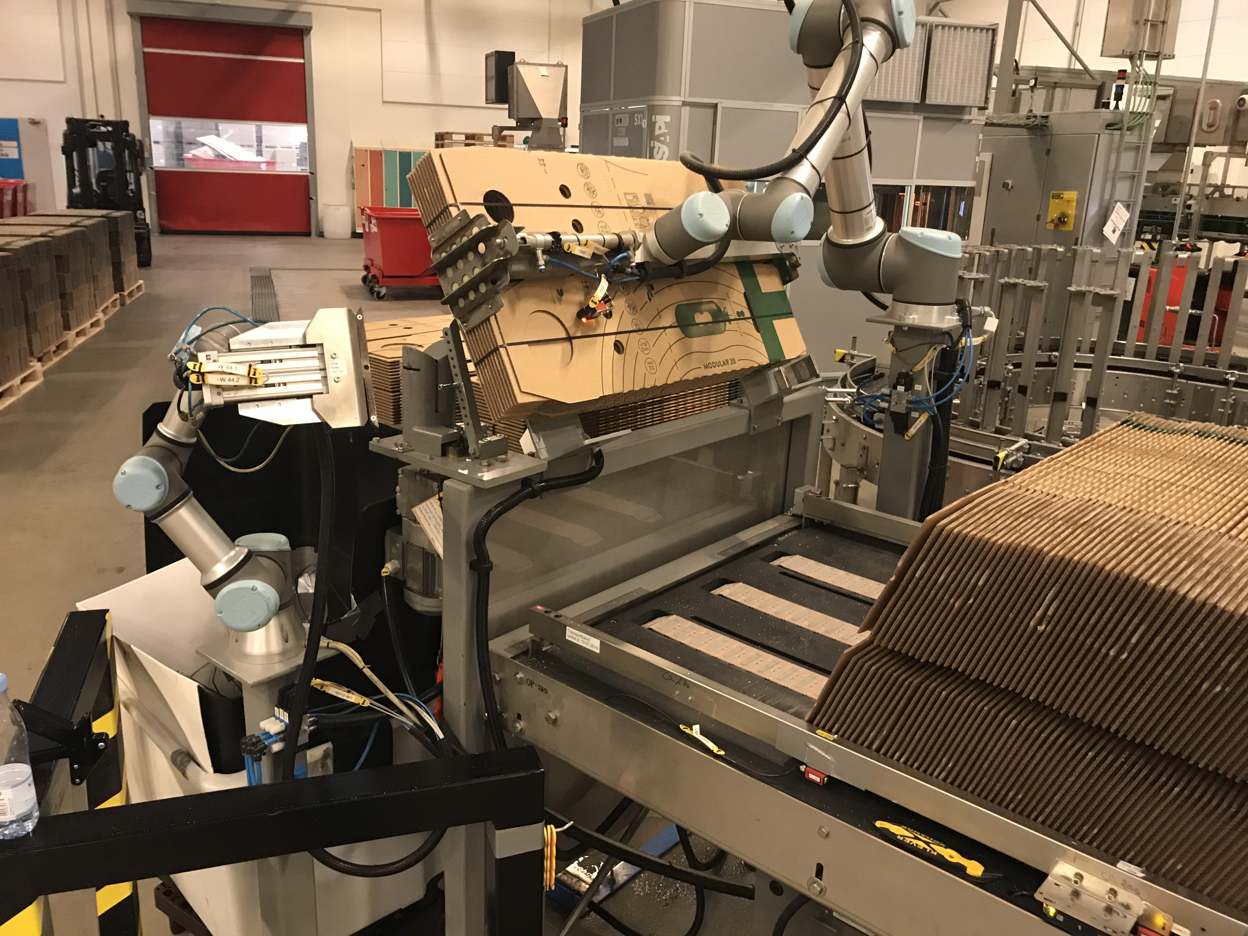 packaging, cobot, Carlsberg, Universal Robots